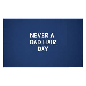 Never A Bad Hair Day Woven Rug