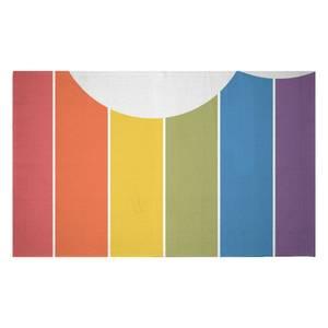 Rainbow Cloud Woven Rug