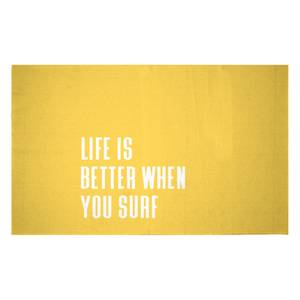 Life Is Better When You Surf Woven Rug