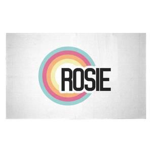 Rosie Rainbow Woven Rug