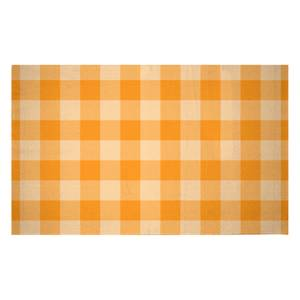 Baking Blanket Orange Woven Rug