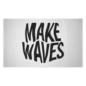 Make Waves Woven Rug