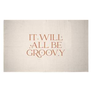 It Will All Be Groovy Woven Rug