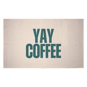 Yay Coffee Woven Rug