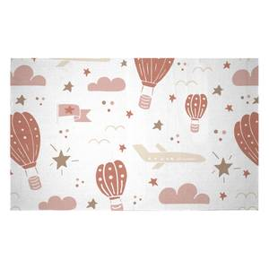 Earth Toned Kids Pattern Woven Rug