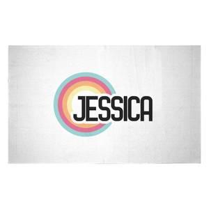 Jessica Rainbow Woven Rug