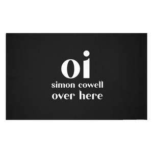Oi Simon Cowell Woven Rug