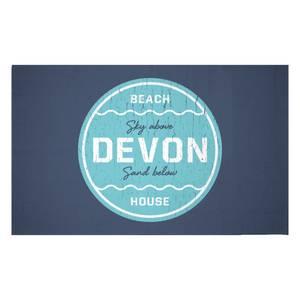 Devon Beach Badge Woven Rug
