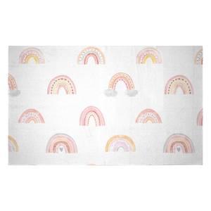Rainbow Pattern Woven Rug