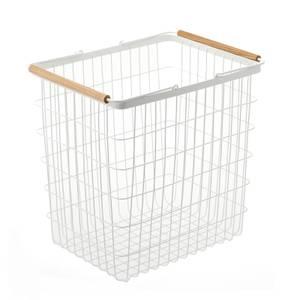 Yamazaki Tosca Wire Laundry Basket - White - Large