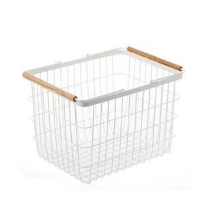 Yamazaki Tosca Wire Laundry Basket - White - Medium