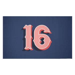 16 Woven Rug