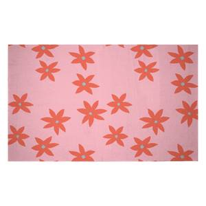Scattered Star Flowers Woven Rug