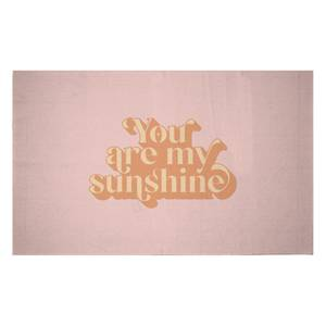 You Are My Sunshine Woven Rug
