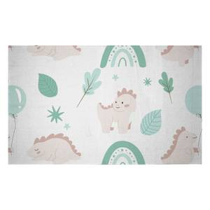 Dusty Pink Dino Woven Rug