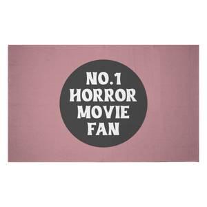 No.1 Horror Movie Fan Woven Rug