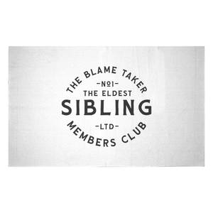 The Eldest Sibling The Blame Taker Woven Rug