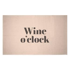 Wine O'Clock Woven Rug