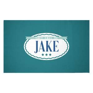 They Call Me Jake Woven Rug