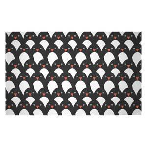 Penguins Woven Rug