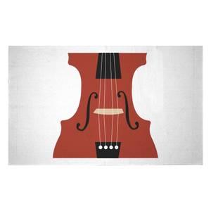 Violin Woven Rug