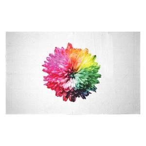 Fluro Flower Woven Rug