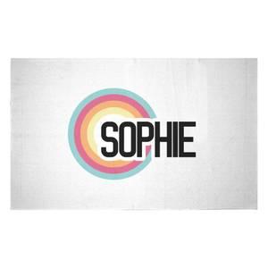 Sophie Rainbow Woven Rug