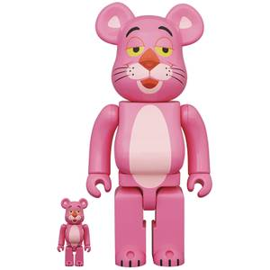 Medicom Pink Panther 100% & 400% Be@rbrick 2 Pack