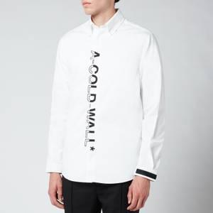 A-COLD-WALL* Men's Essentials Shirt - White