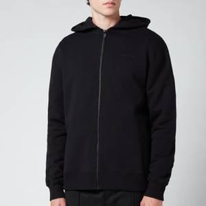 A-COLD-WALL* Men's Logo Zip-Through Hoodie - Black