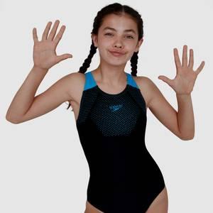 Junior Hexagonal Tech Muscleback Maillot de bain