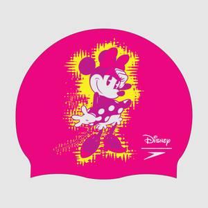 Junior Minnie Mouse Slogan Print Cap Pink