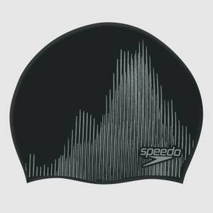 Unisex Reversible Moulded Silicone Cap Black
