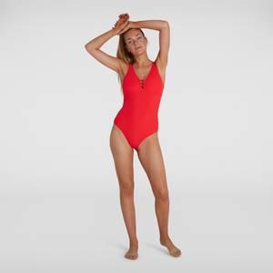 Damen OpalGleam Badeanzug in Rot