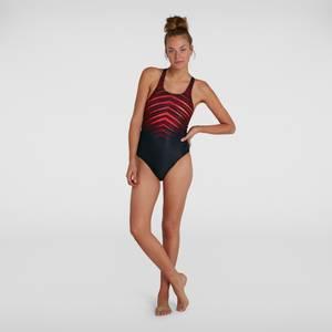 Women's Digital Placement Medalist Swimsuit Black