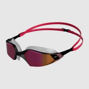 Aquapulse Pro Mirror Goggles Red