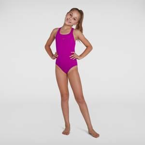 Girl's Essential Endurance+ Medalist Swimsuit Pink