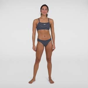 Women's Endurance+ Printed Thinstrap Bikini Navy
