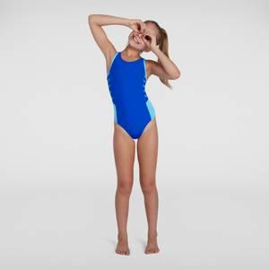 Maillot de bain Fille Boom Logo Splice Muscleback Bleu