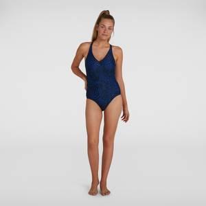 Women's Lexi Printed Swimsuit Black