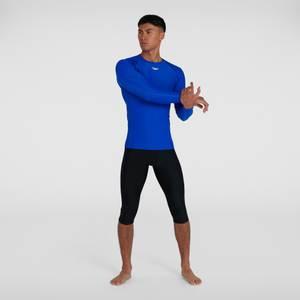 T-shirt rashguard Femme Essential Manches longues Bleu