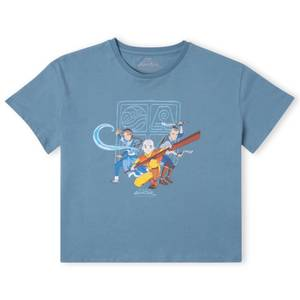 Avatar I Believe Aang Can Save The World Women's Cropped T-Shirt - Teal