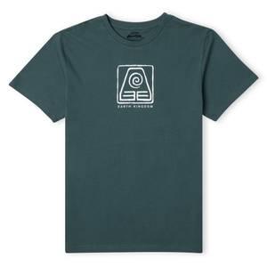 Camiseta unisex Avatar Earth Kingdom - Verde
