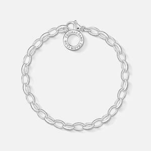 THOMAS SABO Women's Charm Club Classic Charm Bracelet - Silver