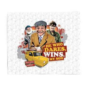Only Fools And Horses He Who Dares, Wins, My Son Fleece Blanket