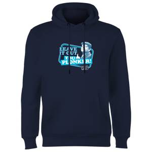 Only Fools And Horses Leave It Out You Plonker! Hoodie - Navy