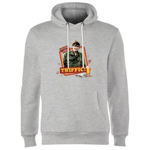 Only Fools And Horses Triffic Hoodie - Grey