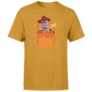 Only Fools And Horses Leave It Out Del Boy Unisex T-Shirt - Mustard