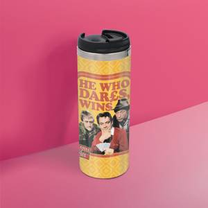 Only Fools And Horses He Who Dares, Wins Stainless Steel Thermo Travel Mug