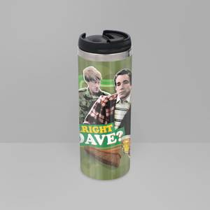 Only Fools And Horses Alright Dave? Stainless Steel Thermo Travel Mug